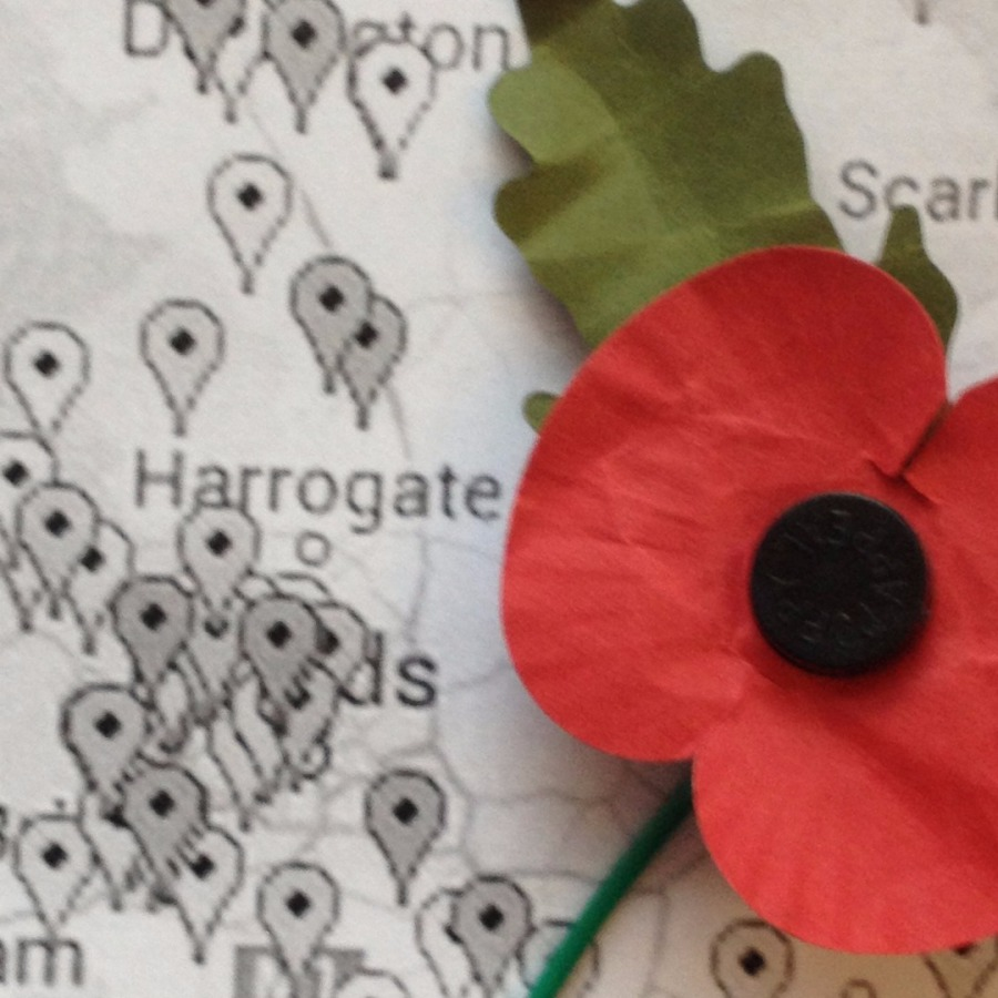 Heritage Lottery Fund mapping of WW1 commemorations