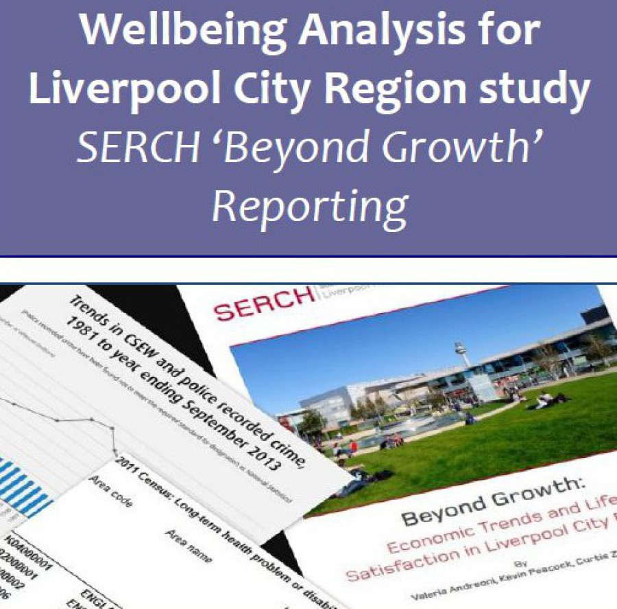 'GDP and beyond' wellbeing analysis for Liverpool City Region report